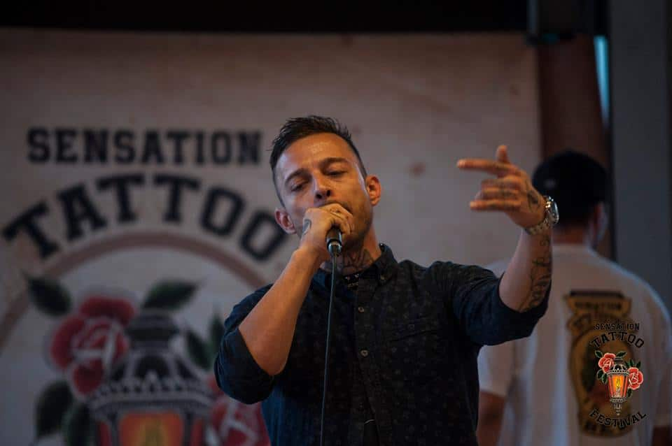 Sensation Tattoo Festival Sänger
